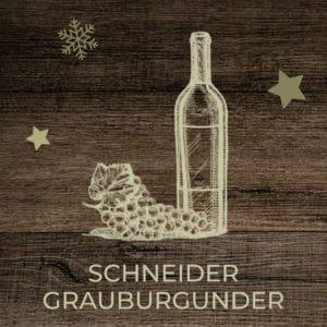 Markus Schneider Grauburgunder bestellen im Gänsetaxi-Shop vom Hotel FREIZEIT IN