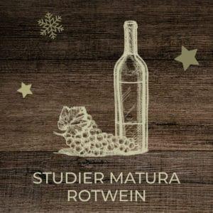 Studier Matura Rotwein beim Gänsetaxi-Goettingen