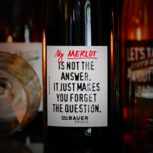 Merlot Wein von Emil Bauer