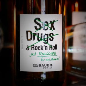 Riesling Sex, Drugs and Rock'n'Roll von Emil Bauer