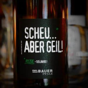 Scheu aber geil Scheurebe von Emil Bauer