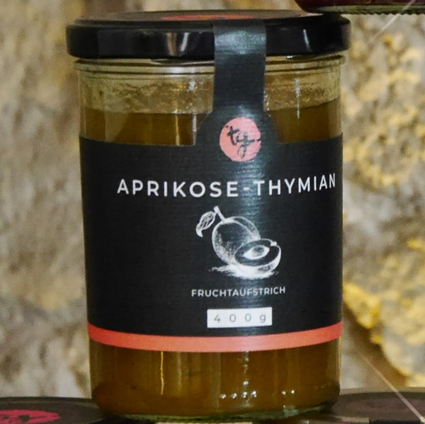 Fruchtaufstrich Aprikose-Thymian von TG
