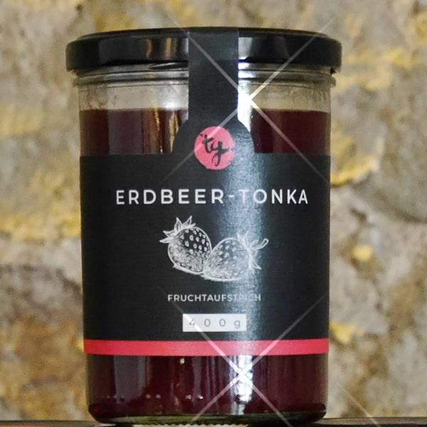 Fruchtaufstrich Erdbeere-Tonka
