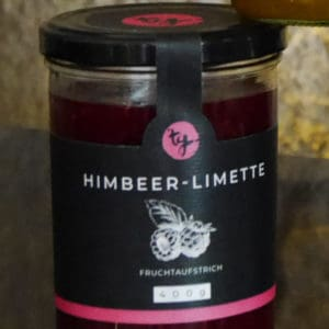 Fruchtaufstrich Himbeere und Limette von TG