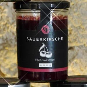 Fruchtaufstrich Sauerkirsche von TG